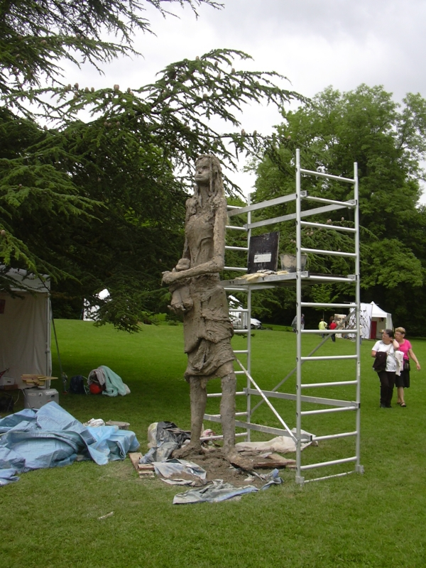 Symposium de la sculpture Humanisme à Villers-Les-Nancy